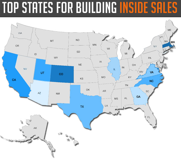 state for inside sales